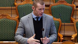 Joachim B. Olsen - Danish politician and MP from Liberal Alliance, 2012