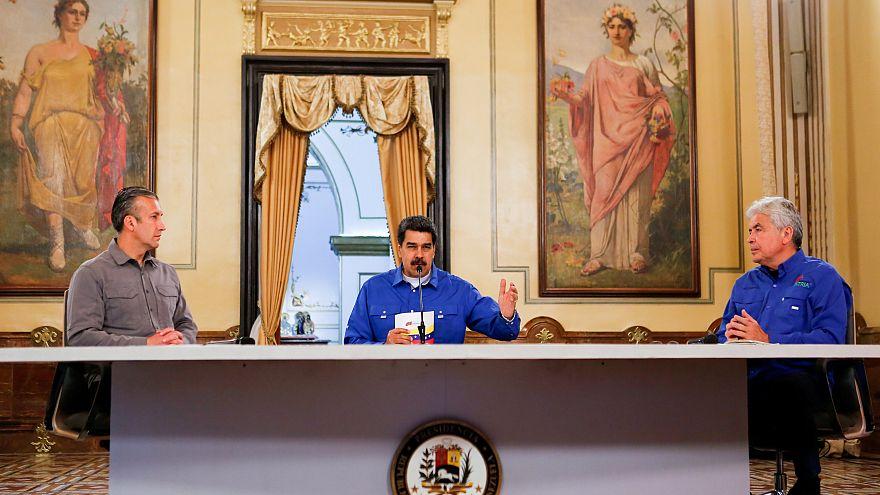 Maduro yönetimi: 'ABD'nin kuklası olmayan demokrat' muhaliflerle görüşüyoruz