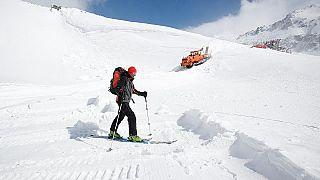 Una estación de esquí de Austria reabre por primera vez en mayo