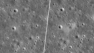 İsrail Uzay Aracı Beresheet'in çarptığı Ay yüzeyindeki hasar görüntülendi