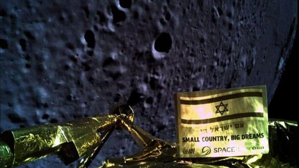 """""""ناسا"""" تنشر صورا لموقع تحطم مركبة إسرائيلية على سطح القمر"""