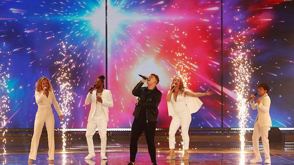 Répétition de l'Eurovision
