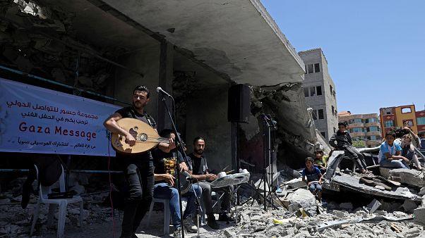 Gazavisión y Globalvision: las alternativas palestinas a la final de Eurovisión en Tel Aviv