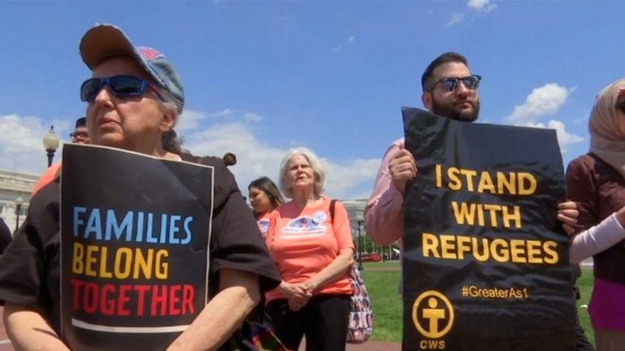 Plano de Trump para a imigração alvo de protestos
