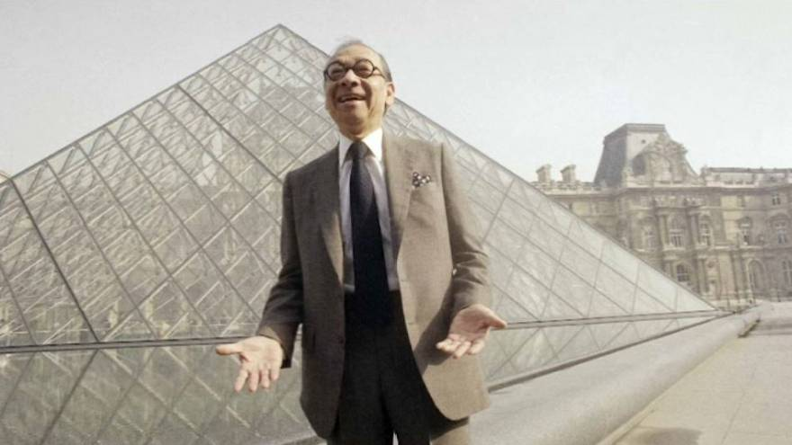 Fallece el creador de la pirámide de cristal del Louvre