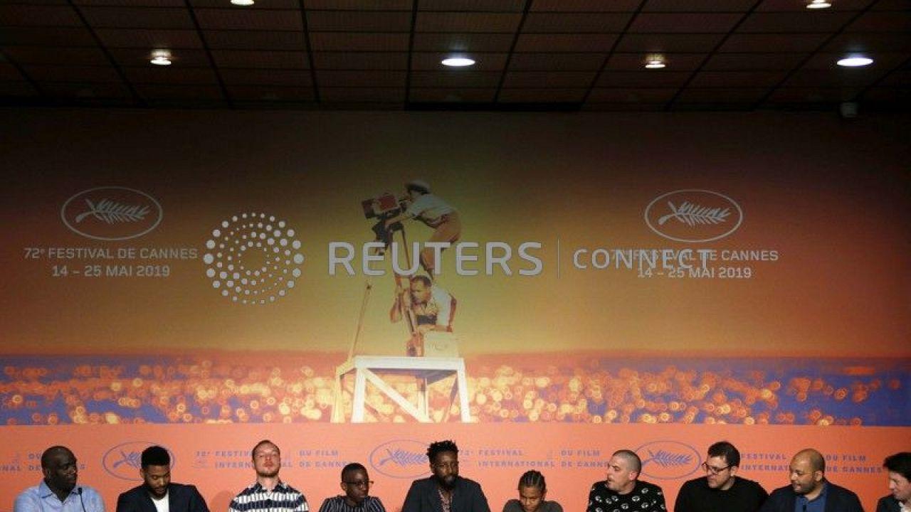 """Conférence de presse pour le film """"Les Miserables"""" de Ladj Ly."""