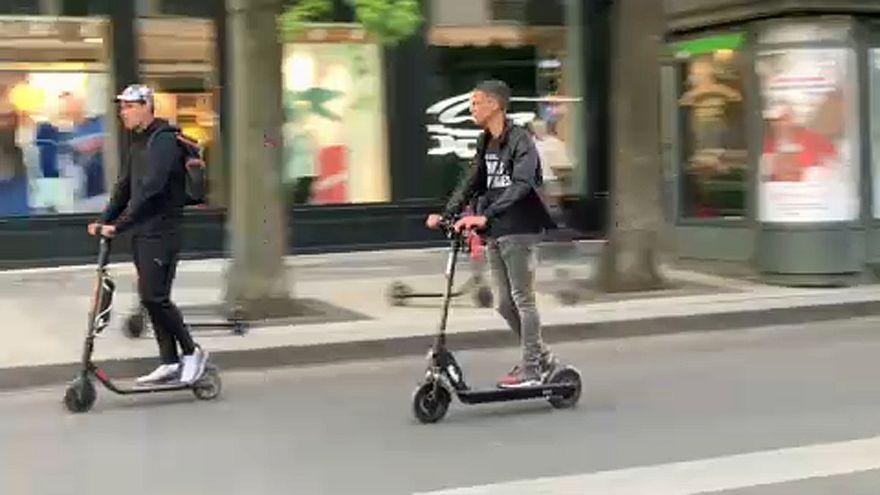 Francia: presto la legge per regolare l'uso dei monopattini su strada