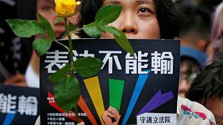 برای اولین بار در آسیا؛ تایوان ازدواج همجنسگرایان را قانونی کرد