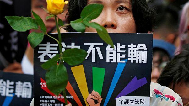 Tajvan legalizálta a melegházasságot