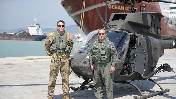 Έφθασαν στην Ελλάδα τα 70 ελικόπτερα αναγνώρισης OH-58D Kiowa Warrior της Αεροπορίας Στρατού