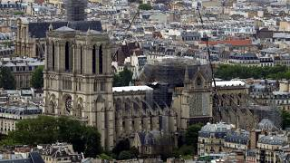 Catedral de Notre Dame. Paris, Francia. 10 de mayo de 2019.