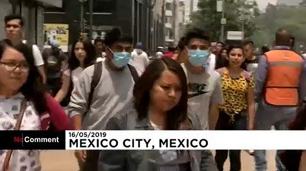 شاهد: إغلاق المدارس في المكسيك بسبب حالة الطوارئ البيئية