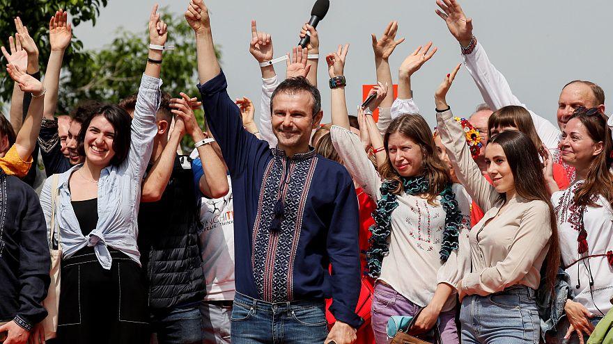 Ucraina: dopo il comico presidente, ora anche una rock star si butta in politica