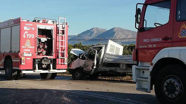 Δύο νεκροί σε τροχαίο στο Κορωπί