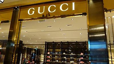 Gucci shopfront