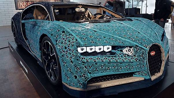 Watch: World's first car built from LEGO bricks unveiled in Denmark