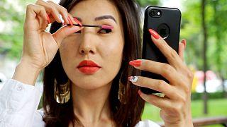 سالانه ۴ هزار زن قرقیزستانی عمل زیبایی پلک انجام میدهند