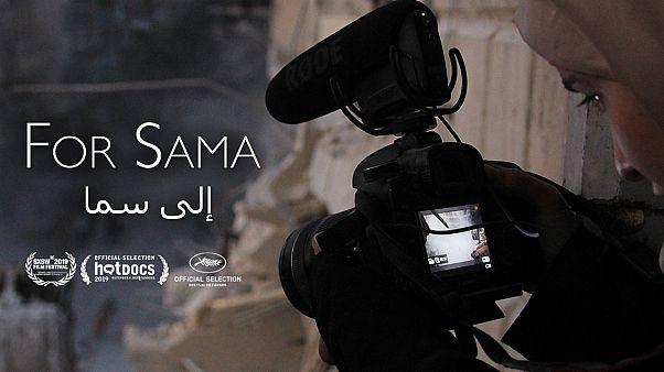 الفيلم السوري من أجل سما المشارك في في مهرجان كان السينمائي