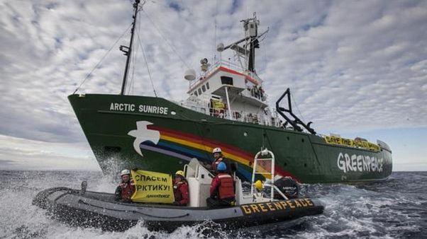 Rusya ile Hollanda arasındaki davada uzlaşma: Greenpeace'e 2.7 milyon dolar ödenecek