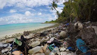 Un vertedero paradisiaco en el Océano Índico.