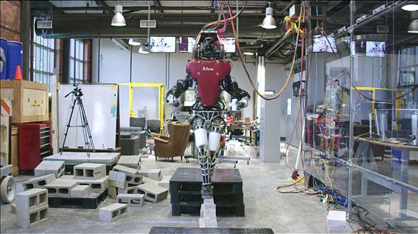 Egyensúlyozni is tud az Atlas nevű robot