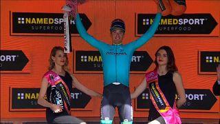 Pello Bilbao estrena el palmarés de España en el Giro