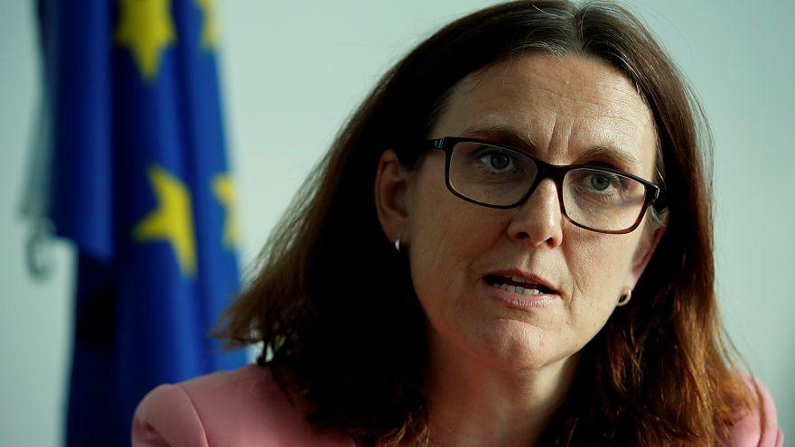 سيسيليا مالستروم مفوضة التجارة بالاتحاد الأوروبي