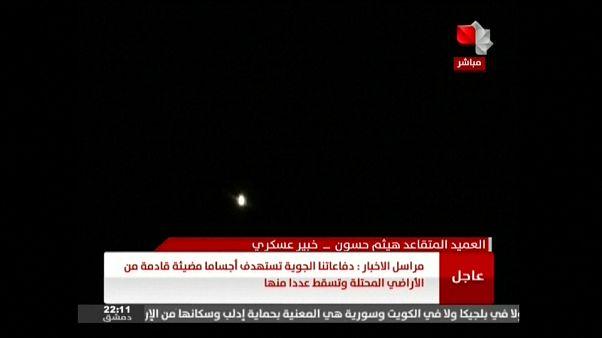 ارتش سوریه: چند موشک اسرائیلی را در آسمان دمشق رهگیری و منهدم کردیم