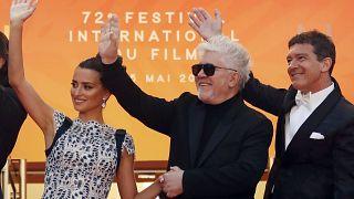 Almodóvar presenta 'Dolor y Gloria' en el festival de Cannes