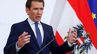 Austrian Chancellor Sebastian Kurz calls for September snap election after coalition partner resigns