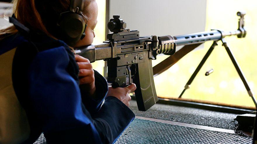 Schuetzenverein Ossingen rifle club in Ossingen, Switzerland