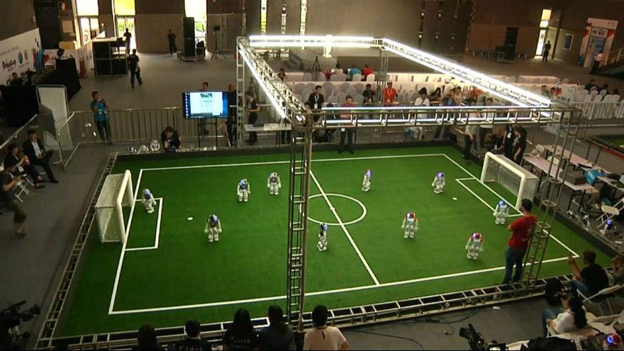 برگزاری مسابقات ربوکاپ در شهر تیانجین چین
