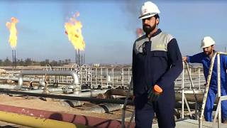 خروج مهندسان خارجی شرکت نفت و گاز اکسونموبیل از میدان نفتی بصره عراق