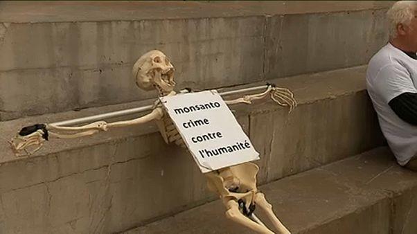 Protesta mundial contra Bayer Monsanto por el glifosato