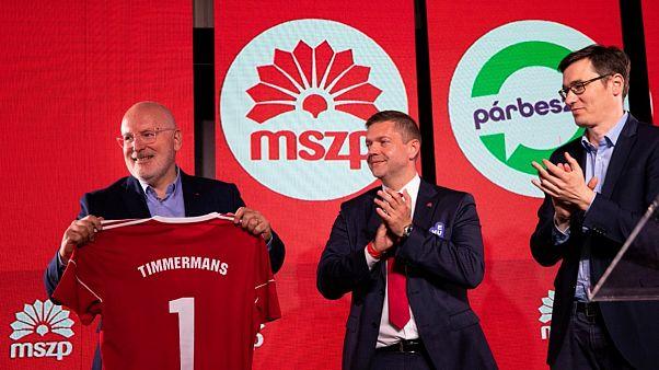 Timmermans csodálja a magyar szocialisták optimizmusát