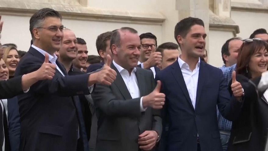 Marea proeuropea a una semana para las elecciones a la Eurocámara