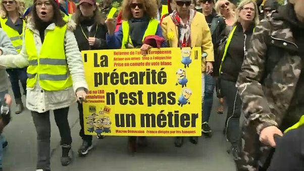 الفصل 27  من احتجاجات السترات الصفراء في فرنسا