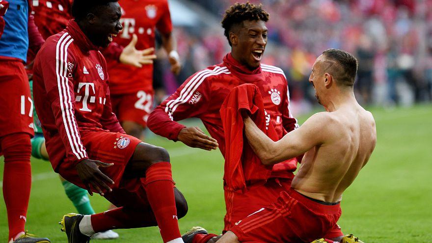 Bayern München ist Meister - nach 5:1 gegen Eintracht Frankfurt