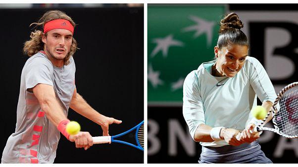 ATP Ρώμης: Εκτός τελικού Τσιτσιπάς και Σάκκαρη
