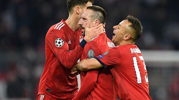 Bayern München zum 7. Mal Meister - nach 5 : 1 gegen Eintracht Frankfurt