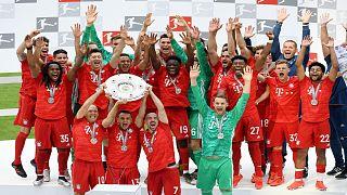 نادي بايرن ميونخ الألماني، بطل دوري الدرجة الأولى الألماني لكرة القدم