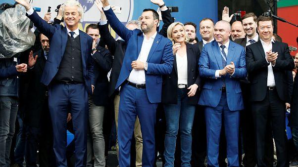 La ultraderecha desafía a la UE desde Milán con Salvini a la cabeza