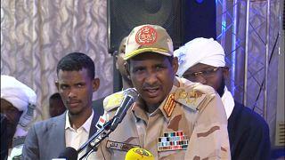 الفريق محمد حمدان دقلو نائب زعيم المجلس العسكري السوداني