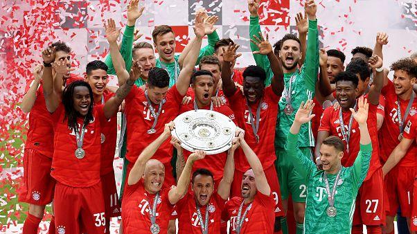 Bayern Münih lige ambargo koydu, Bundesliga'da üst üste 7. kez şampiyon oldu