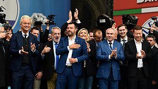 قادة اليمين المتطرف في إيطاليا وفرنسا وهولندا وبلغاريا وجمهورية التشيك