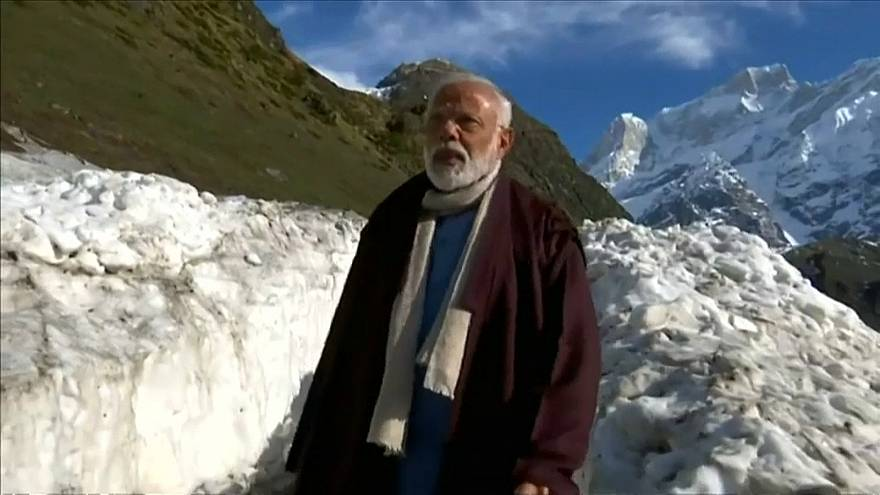 شاهد: مودي في رحلة روحانية بعد انتهاء الانتخابات الهندية
