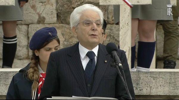 Mattarella und Duda begehen 75. Jahrestag der Schlacht um Montecassino