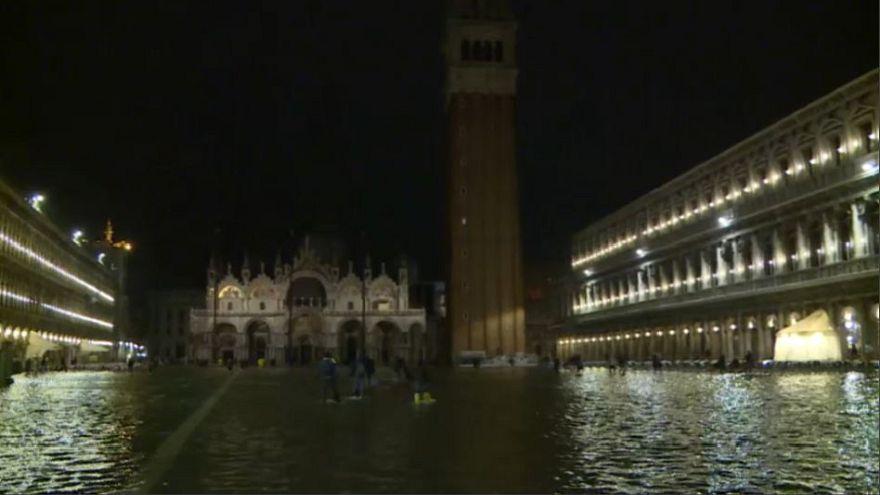 Rekord májusi vízállás Velencében