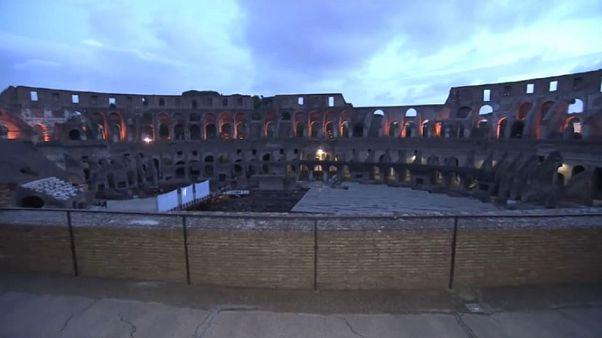 Al via a Roma le visite del Colosseo tra i sogni dei gladiatori