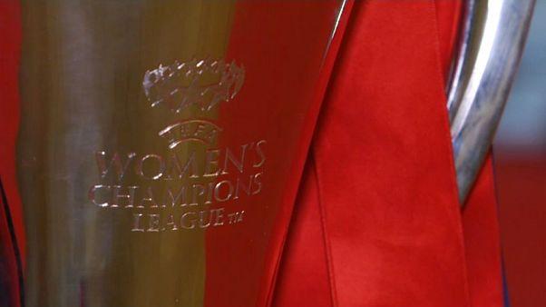Olympique Lyons Frauen sind die Königinnen Europas